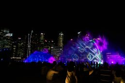 Spectra Light Show in Marina Bay, Singapore