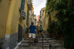 Petraio steps in Naples