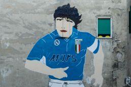 Maradona Mural in Napoli