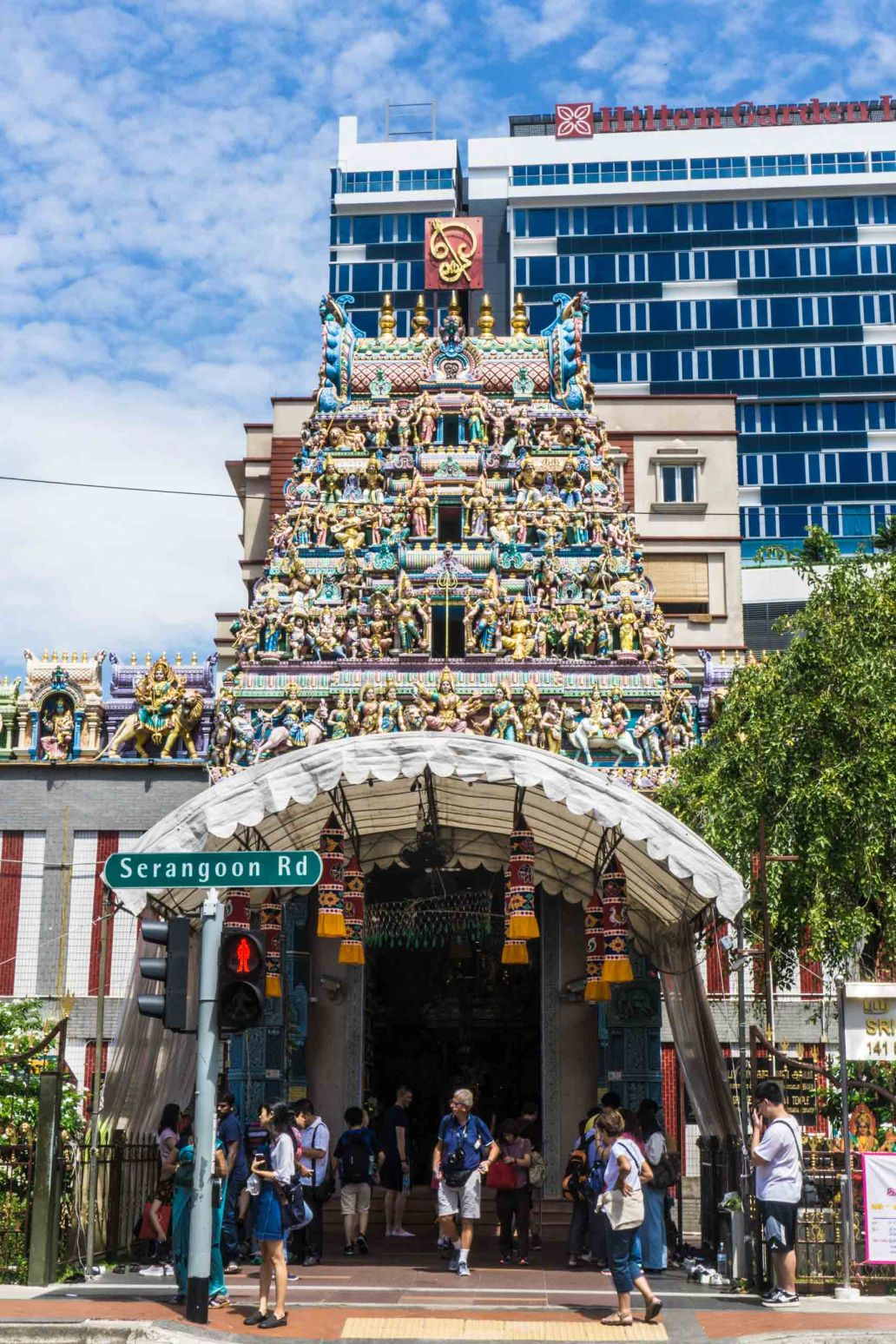 Little India temple, Singapore