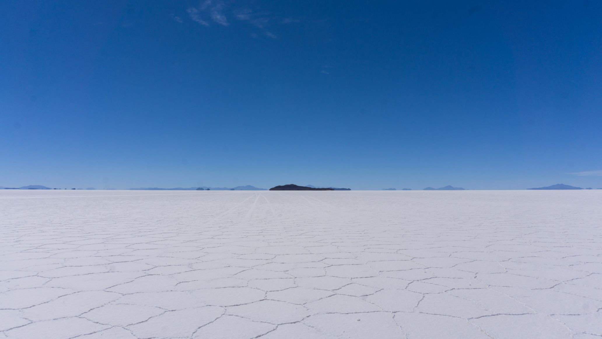 Salt Flats in Uyuni, Landscape picture