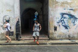Chico Portal Habana Cuba