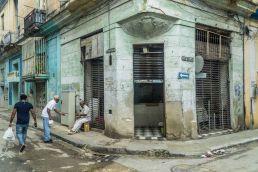 Una calle en la Habana Vieja