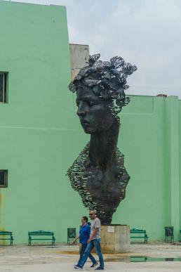 Escultura Malecón Habana