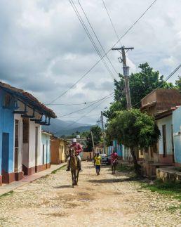 Caballos en Trinidad, Cuba